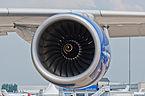 British Airways Airbus A380-841 F-WWSK PAS 2013 07 Trent 970 engine.jpg