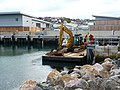 Brixham - Floating Digger - geograph.org.uk - 1621013.jpg