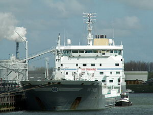 Bro Sincero IMO 9254422 docked at the Botlek Harbour 29-Apr-2006.jpg
