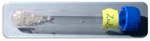 Zinc bromide - Image: Bromid zinečnatý