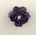 Brooch in the form of a Purple Flower Brooch, ca. 1900 (CH 18497619).jpg