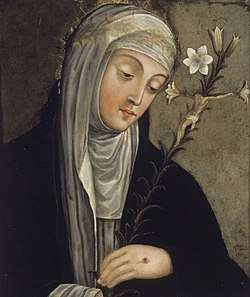Brooklyn Museum - St.Catherine of Siena (formerly described as Santa Clara) - overall.jpg