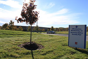 Brownstown Charter Township, Michigan - Brownstown Battery Assembly plant