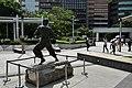 Bruce Lee Statue at Avenue of Stars, HongKong (Ank Kumar, Infosys) 06.jpg