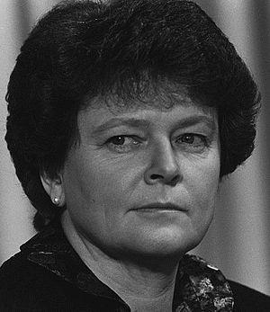 Norwegian parliamentary election, 1985 - Image: Brundtland