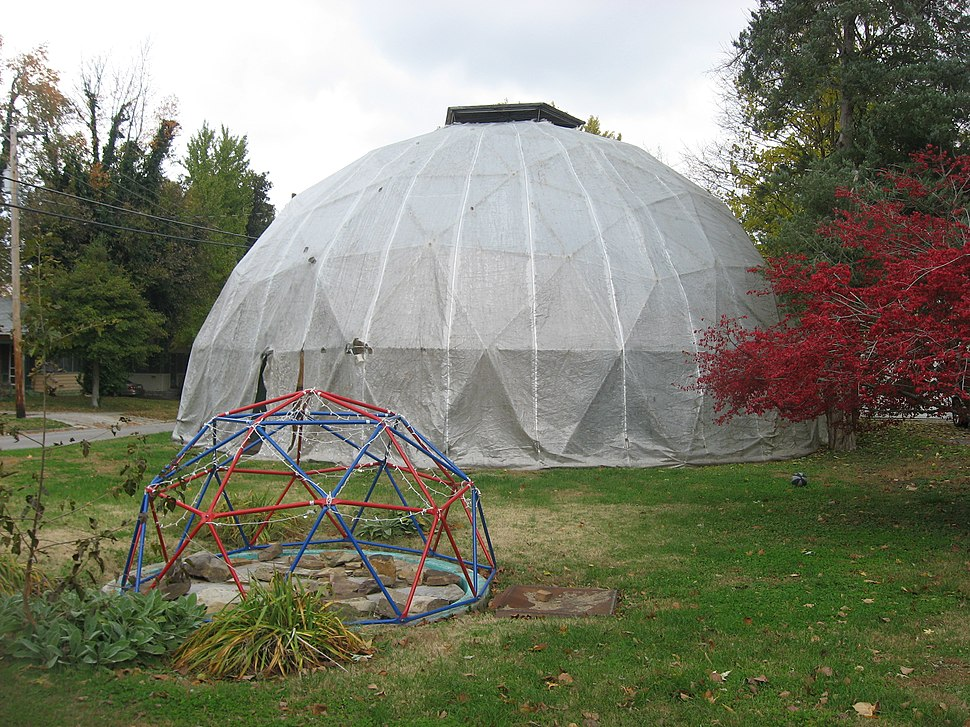 Buckminster Fuller dome in Carbondale