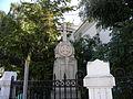 Bucuresti, Romania, Biserica Silvestru (cu cruce in exterior); B-II-m-B-19694.01.JPG