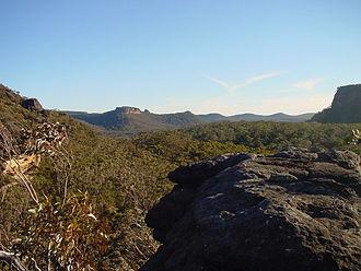 Budawang Range - View across the Budawangs from Hidden Valley