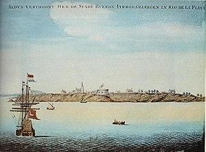 Buenos Aires (Aldus Verthoont, ca 1628)
