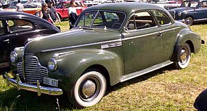 Buick Super - 1940 Buick Super coupe