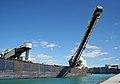 Bulk carrier Captain Henry Jackman, unloading in Goderich, Ontario -b.jpg