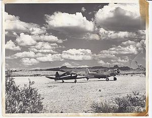 Laughlin/Bullhead International Airport - Bullhead Airport (circa 1940's)