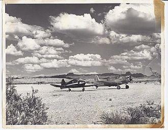 Laughlin/Bullhead International Airport - Bullhead Airport (circa 1940s)