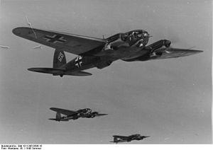Kampfgeschwader 1 - KG 1 bombers, 21 June 1940