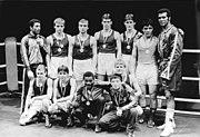 Bundesarchiv Bild 183-1984-0401-005, Halle-Saale, XIII. Chemie-Pokalturnier, Boxer