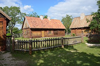 Bunge, Gotland - One of the farms at Bunge Museum.