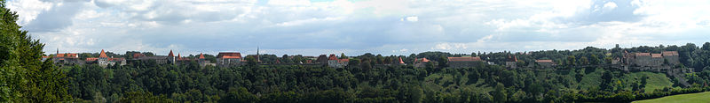 Burghausen von Westen