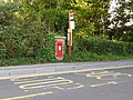 Burton, postbox No. BH23 60, Martins Hill Lane - geograph.org.uk - 1411654.jpg