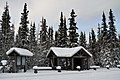 Bus stop in Riley Creek Campground (38750576161).jpg