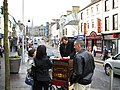 Busking in High Street, Omagh - geograph.org.uk - 349638.jpg