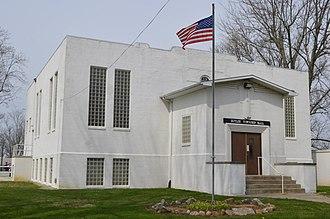 Butler Township, Richland County, Ohio - Township hall at Adario