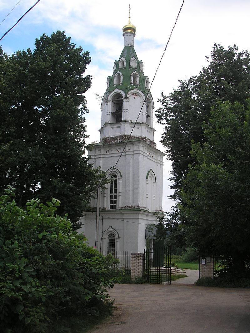 Спасо-Преображенский храм в с. Бужарово