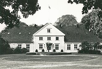 Bygdøy Royal Estate - Black and white photo from the 1980s