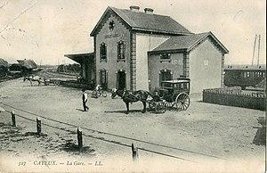 Cayeux-sur-Mer - Cayeux railway station