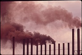CHIMNEYS OF U.S. STEEL PLANT EMIT SMOKE 24 HOURS A DAY - NARA - 545435.jpg