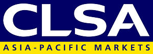 English: Company logo for CLSA Asia-Pacific Ma...