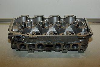 Ford CVH engine - 1.6 CVH cylinder head