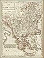 Ca. 1790 map of Turkey in Europe by Pierre Antoine Tardieu.jpg