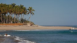 A beach in Cabarete