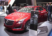 Cadillac-CTS-2014-red IAA2013 front-left-side LWS2826.JPG