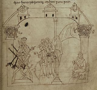 Junius manuscript tenth century illustrated manuscript in the collections of the Bodleian Library