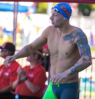 Caeleb Dressel American swimmer