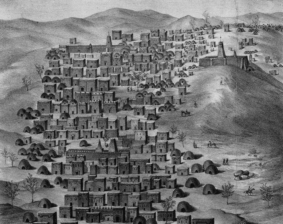 Caillie 1830 Timbuktu view