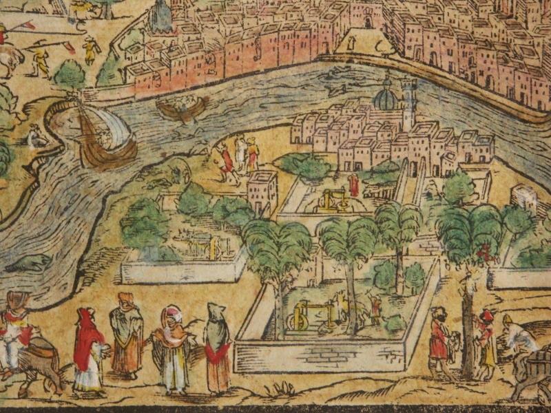 Cairo* (1600) a detail