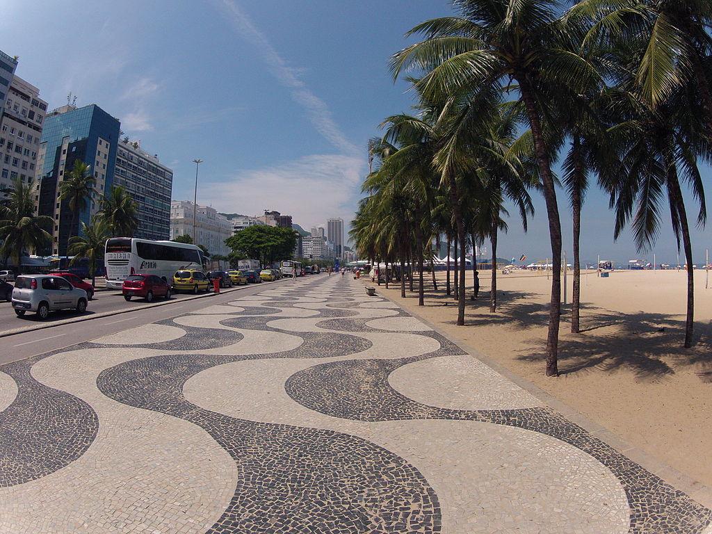 Calçadão de Copacabana - Rio de Janeiro (2)