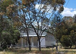Callawadda Town in Victoria, Australia