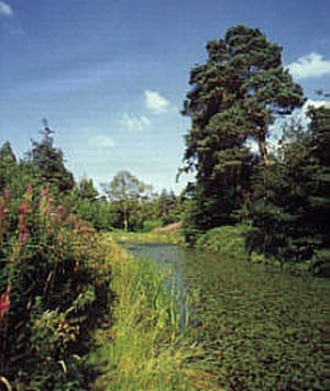 Cammo - Formal canal within the Cammo estate