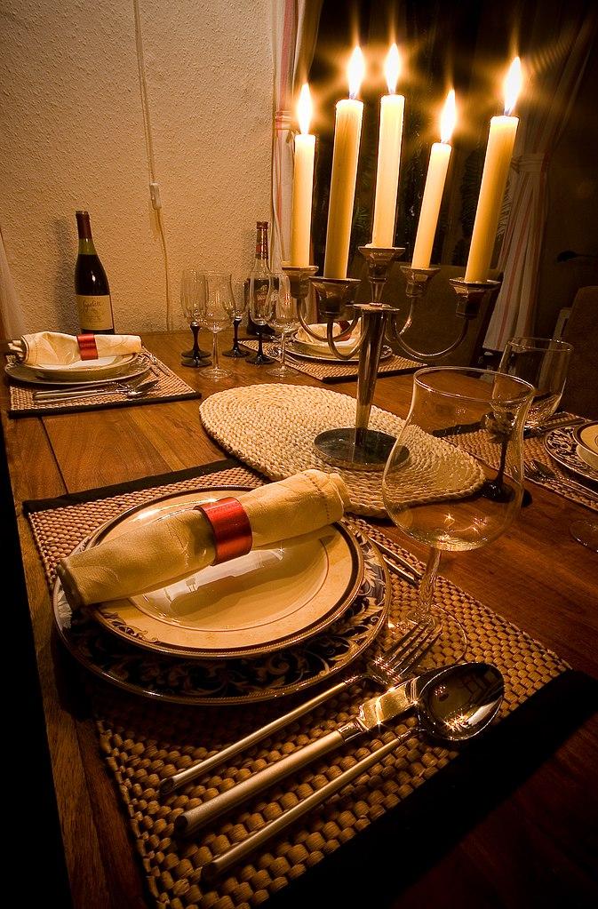 FileCandle Light Dinner 306970309jpg Wikimedia Commons