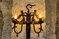 Candle light inside the Albanian church Kish.jpg