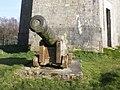 Cannon beneath the Wellington Monument, Somerset - geograph-3881061.jpg