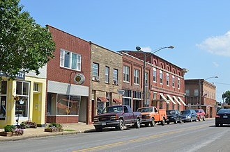 Canton, Missouri - Downtown on Fourth Street