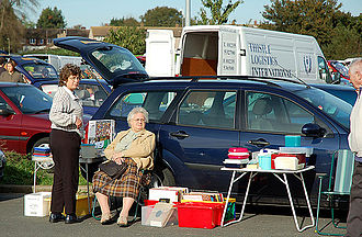 Car boot sale - Car boot sale in 2011