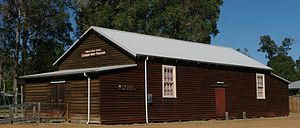 Carbunup River, Western Australia - local hall