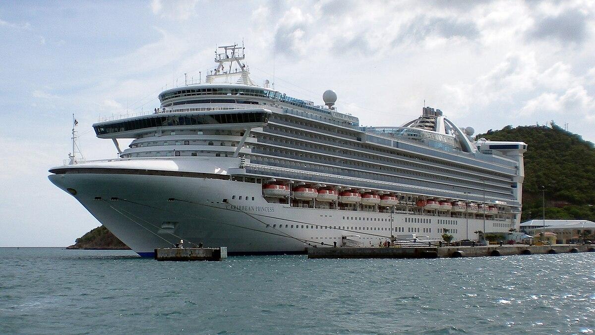 Caribbean Princess Wikipedia - Average price of a cruise ship