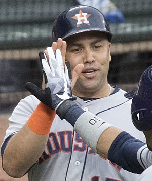 Carlos Beltrán - Beltrán with the Houston Astros in 2017