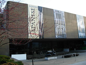 Carnegie Museum of Art - Exterior view of the Sarah Mellon Scaife Gallery.
